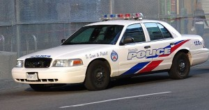 Toronto Police Car - To serve and protect